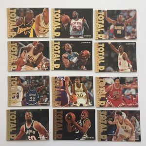 Other - Fleer 95-96 Total D set of 12